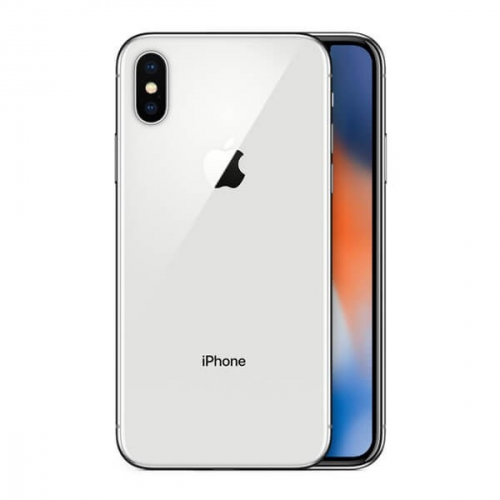 iPhone X plata 64GB