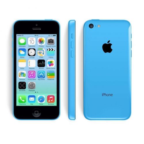 iPhone 5C 16 bleu