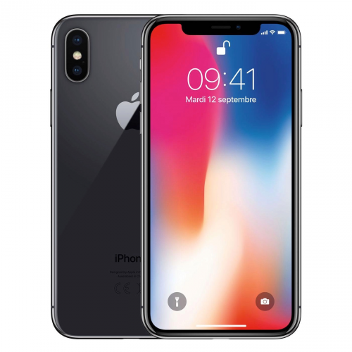iPhone X 256 Gris sidéral