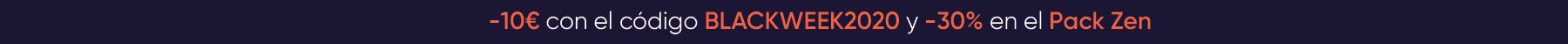 -10€ con el codigo BLACKWEEK2020