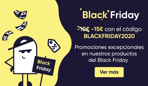 BlackWeek : -10€ con el codigo BLACKWEEK2020 y promociones excepcionales