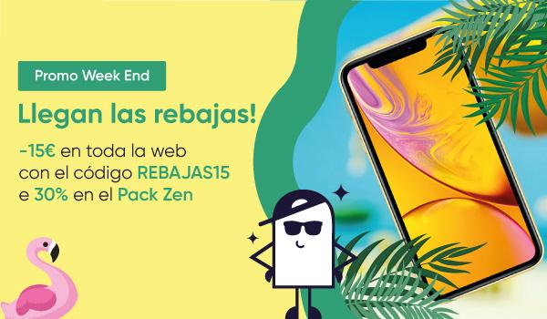 Rebajas de Verano 2021 : -15€ en toda la web y -30% en el Pack Zen