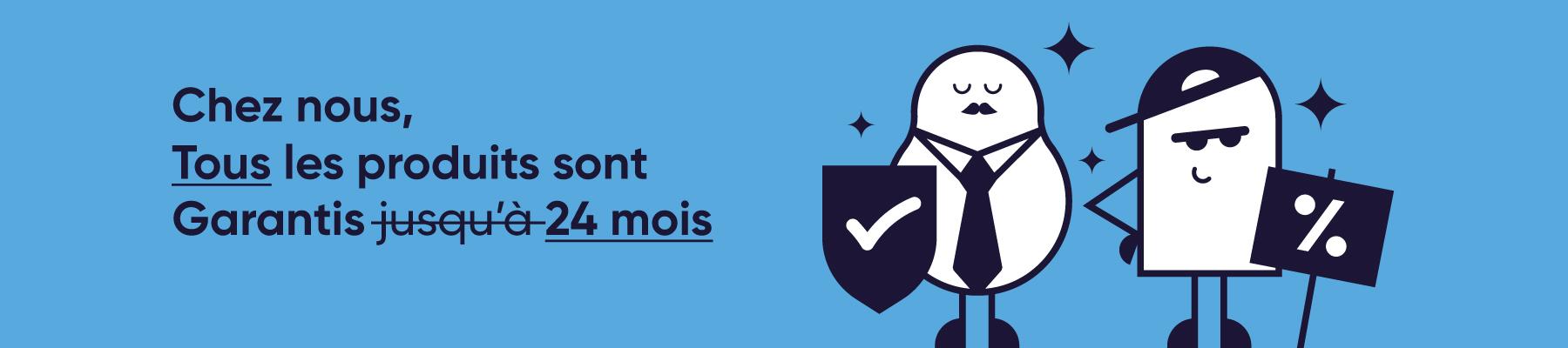 Garantie 24 mois CertiDeal